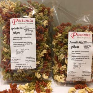 Spirelli-Mix, pikant