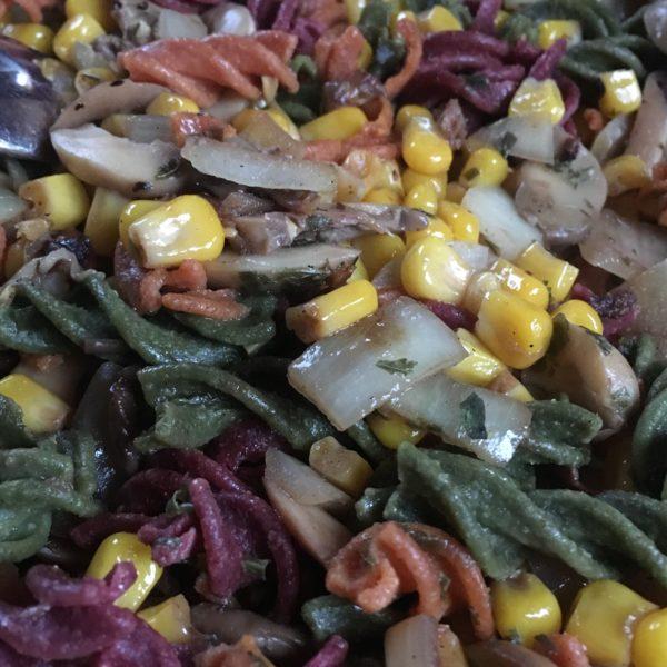 Haferkleie-Mix-Salat
